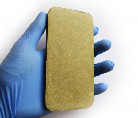 Hemp CBD hash pressed pollen bar 100g